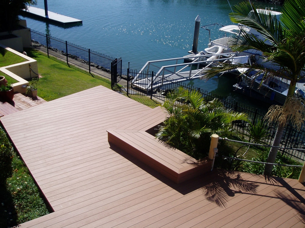 Futurewood's composite timber decking choices