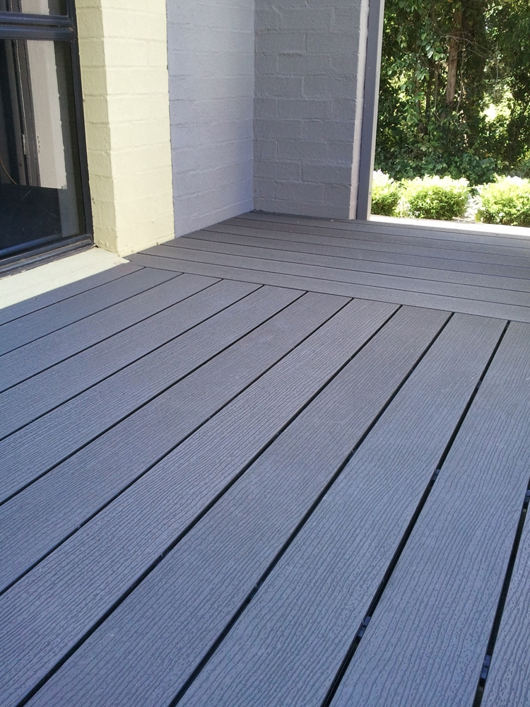 Futurewood a low maintenance timber alternative for Composite decking planks