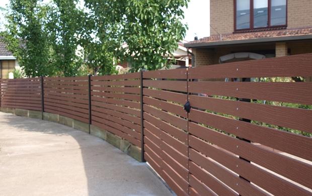 Composite Slat Fencing