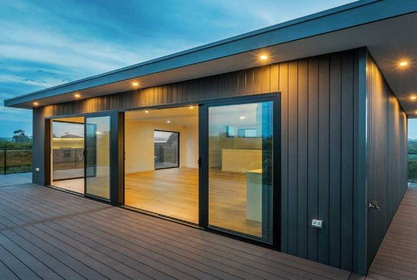 composite wood decking and cladding